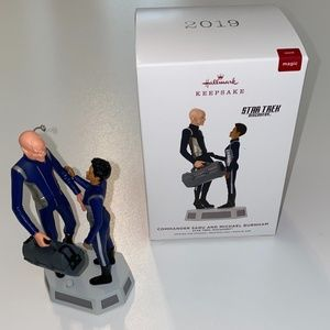 Hallmark 2019 Star Trek Commander Saru and Michael